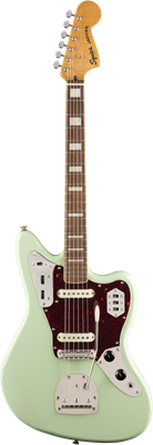 Guitare Electrique Squier Classic Vibe '70s Jaguar®, Laurel Fingerboard, Surf Gr