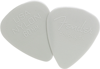 Fender Médiator 351 Shape, Nylon, .60 mm (12)