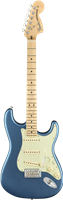 Fender American Performer Stratocaster®, Maple Fingerboard, Satin Lake Placid Bl
