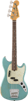 Fender JMJ Road Worn® Mustang Bass®, Rosewood Fingerboard, Faded Daphne Blue