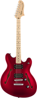 Guitare Electrique Squier by Fender Starcaster Affinity, Candy Apple Red