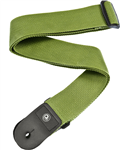 Sangle Planet Waves Core-attaches cuir - 50mm, Verte