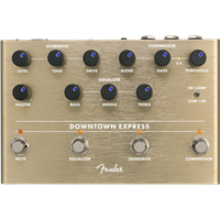 Pédale d'effet Fender Downtown Express Bass Multi Effect Pedal